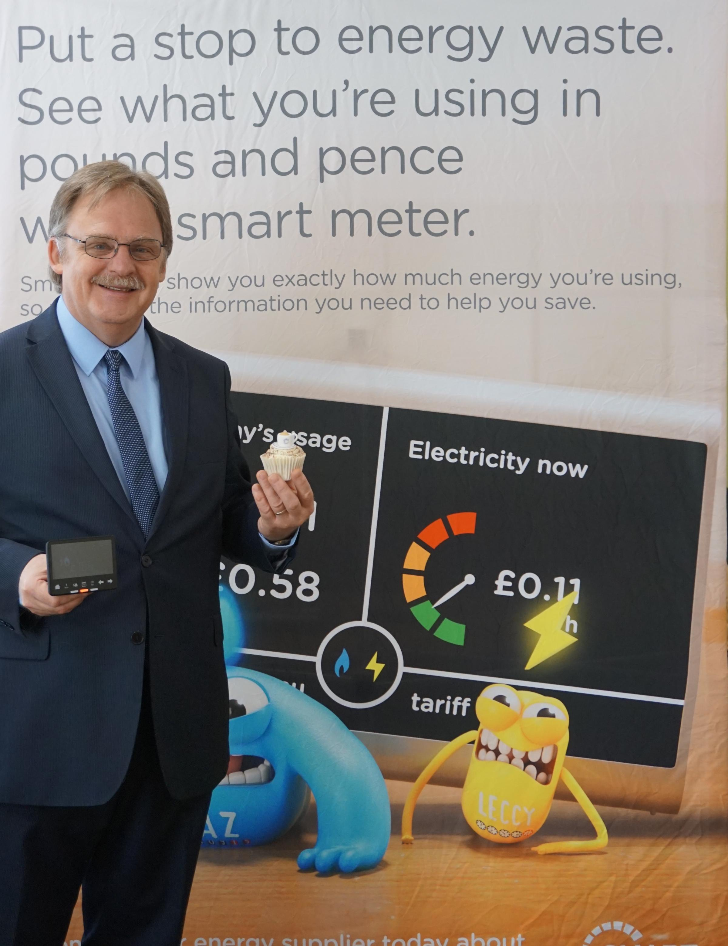 North Wales AM Mark Isherwood at the Smart Energy GB event