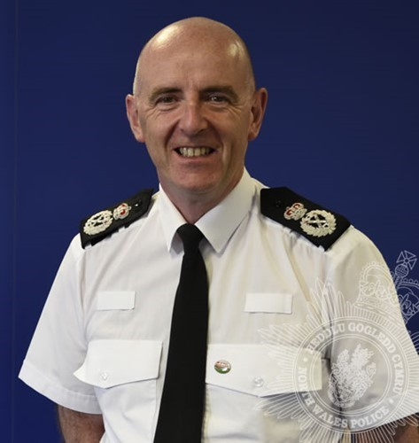 Chief Constable Gareth Pritchard