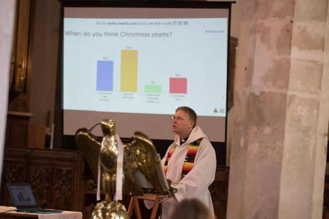 Church trials live voting smartphone app to engage