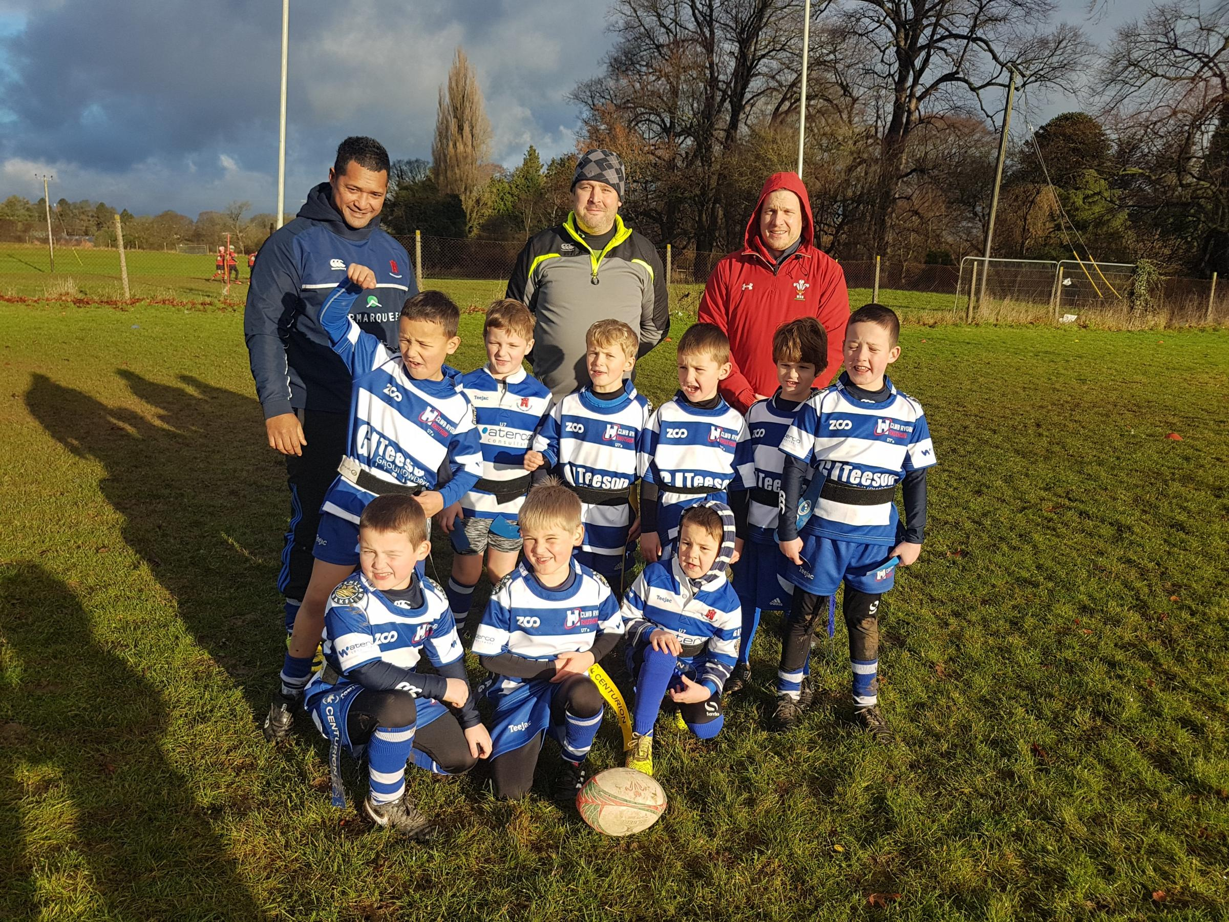 Ruthin U-7s at Oswestry