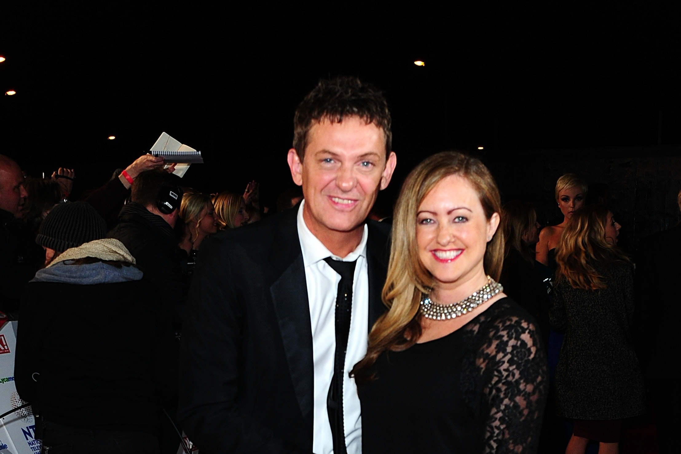 Matthew Wright and his wife Amelia
