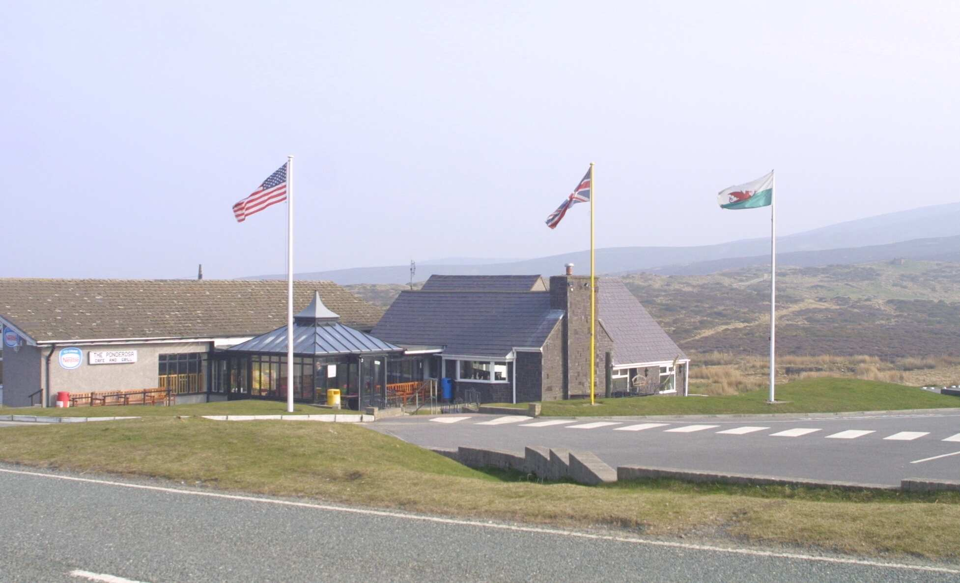 Ponderosa Cafe on the Horseshoe Pass