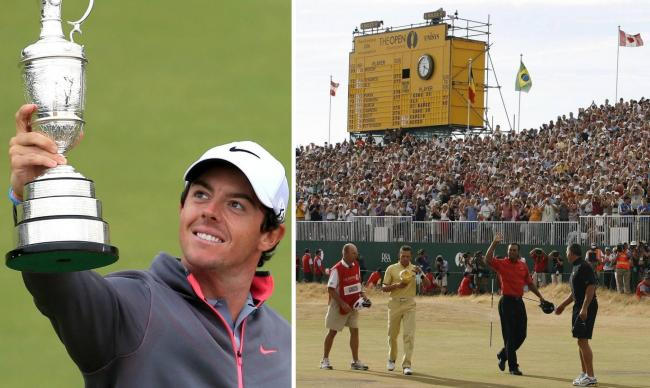 Rory McIlroy won The Open when it was last held at Hoylake in 2014; while Tiger Woods triumphed at the Wirral venue in 2006