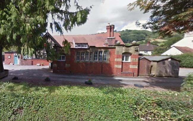 Ysgol Pontfadog in the Ceiriog Valley will shut its doors for the final time this summer. Source: Google