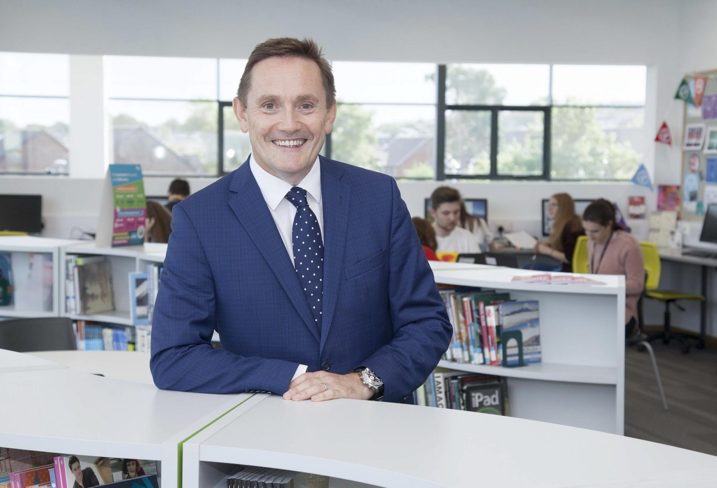 Coleg Cambria's Chief Executive David Jones