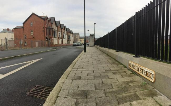 The ambitious plans will join a scheme to rejuvenate properties already underway on Crescent Road, Water Street and Aquarium Street, in Rhyl. Picture: Kerry Roberts
