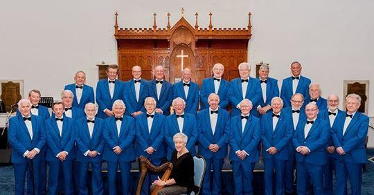 The Llanddulas Male Voice Choir are set for Rhyd y Foel. Picture: Paul Davies