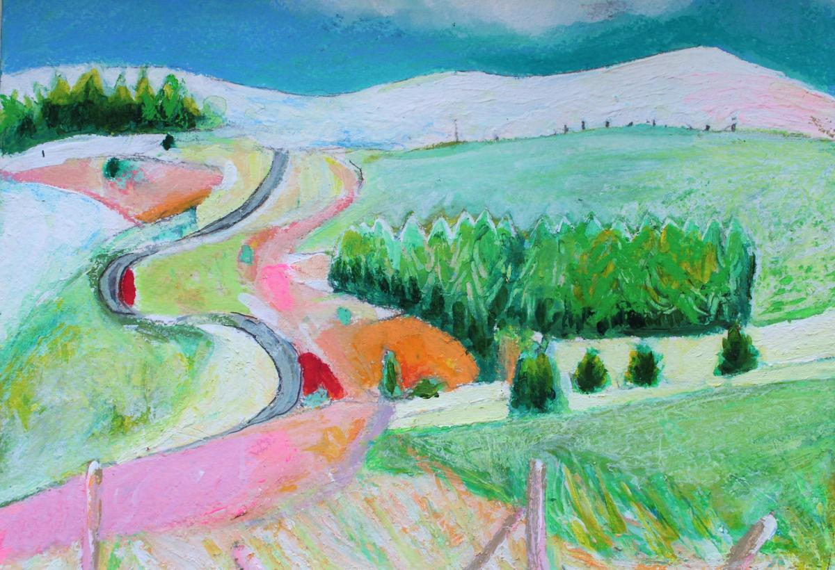 Llangollen artists display drawing painting and photography in new exhibition