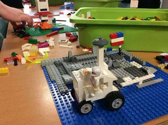 Pupils Join In Lego Project To Commemorate 50th Anniversary Of