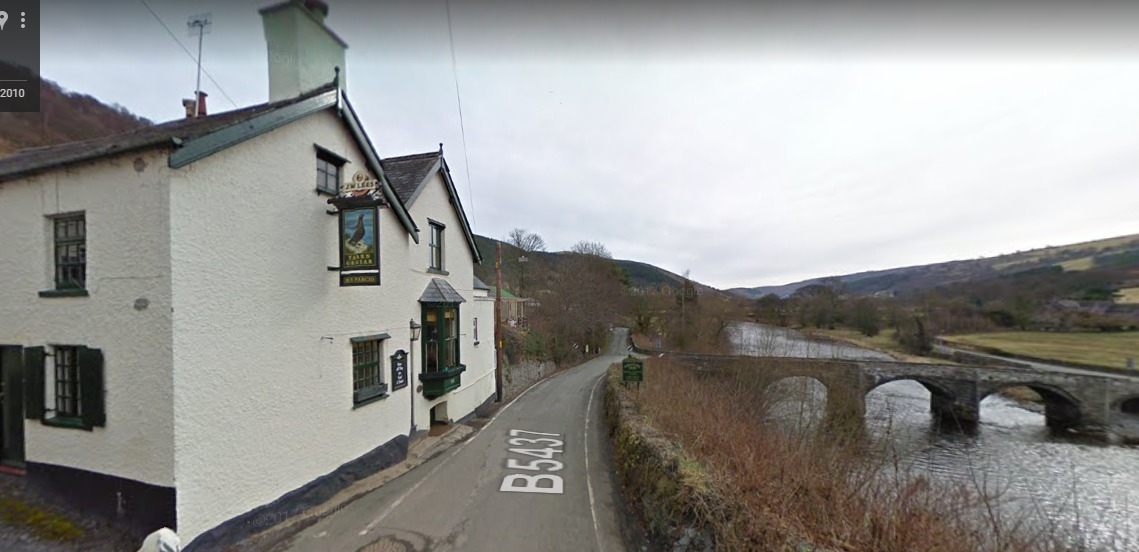 The Grouse Inn in Carrog has been shortlisted for an award. PICTURE: Google Streetview.