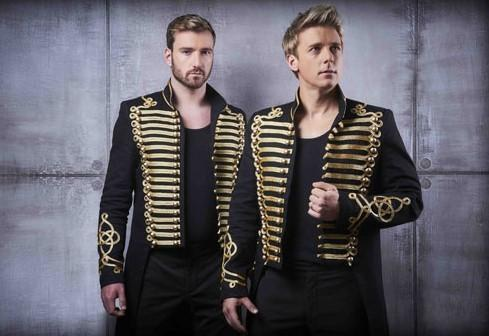 Jai McDowall and Jonathan Ansell will take to the stage in Les Musicals