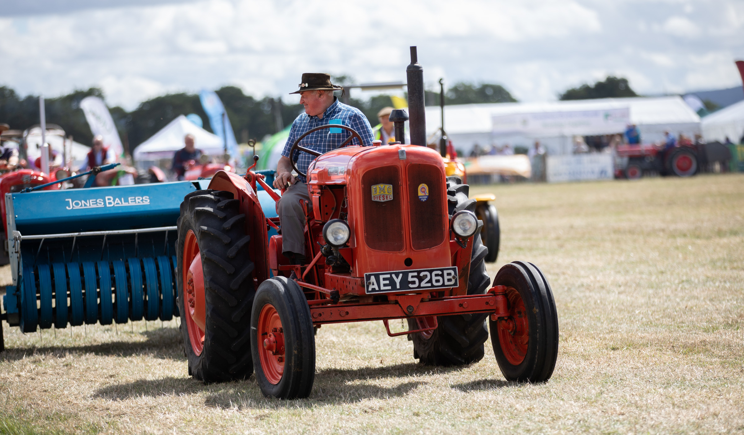 A vintage tractor procession will precede a wide range of events and activities at the Clwyd Country Fair. Picture: Don Jackson-Wyatt