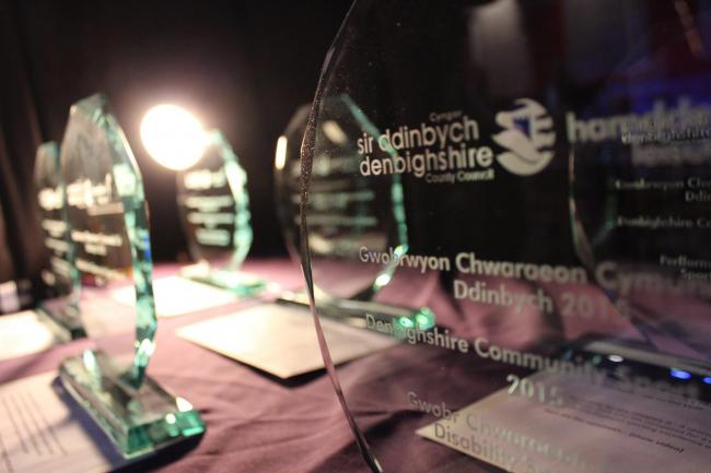 The finalists of the Denbighshire Sport Awards wil be forwarded to the BBC Sports Personality Awards in Cardiff.