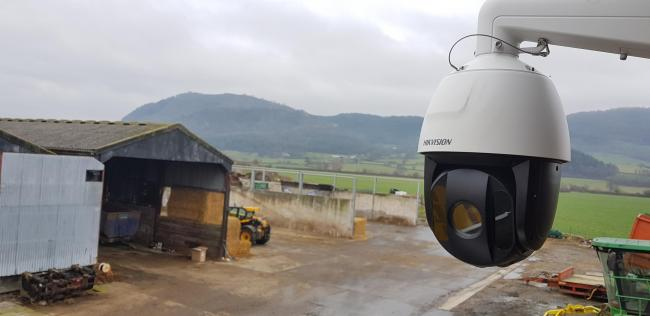 CCTV cameras are offering help to farmers.