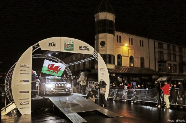 Denbighshire Free Press: Lights, cameras, action – the Wales Rally GB ceremonial start will be staged in Liverpool for the first time