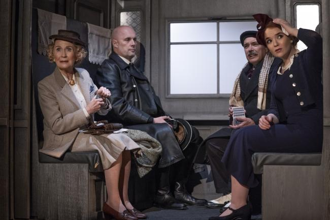 Juliet Mills, Joe Reisig, Mark Carlisle and Lorna Fitzgerald in The Lady Vanishes. Picture: Paul Coltas